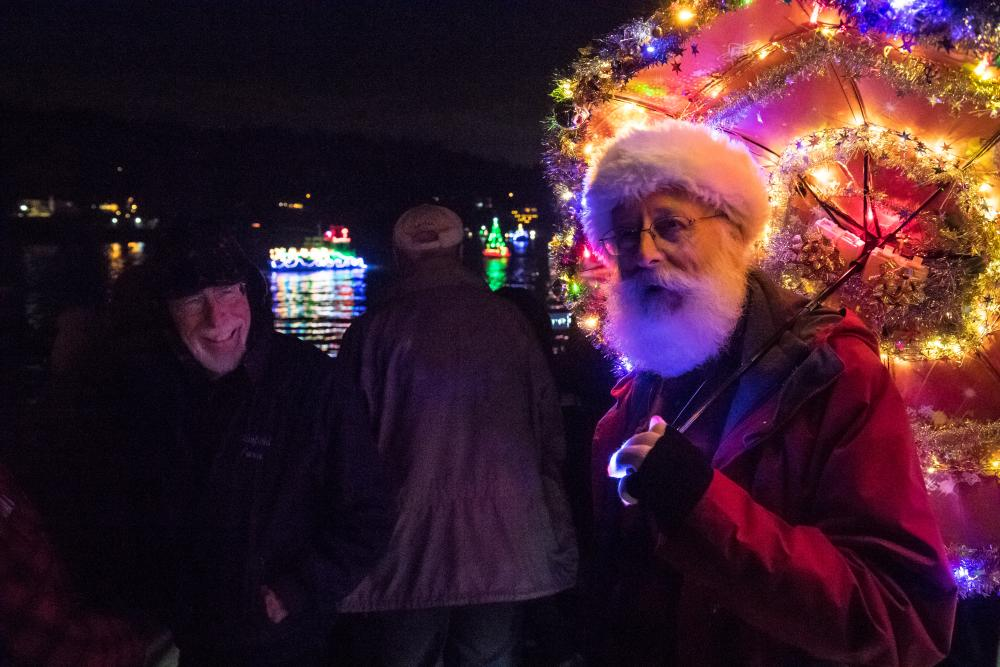 milwaukie winter solstice and christmas ships viewing event 2017